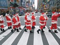 סנטה קלאוס בניו יורק / צלם: רויטרס